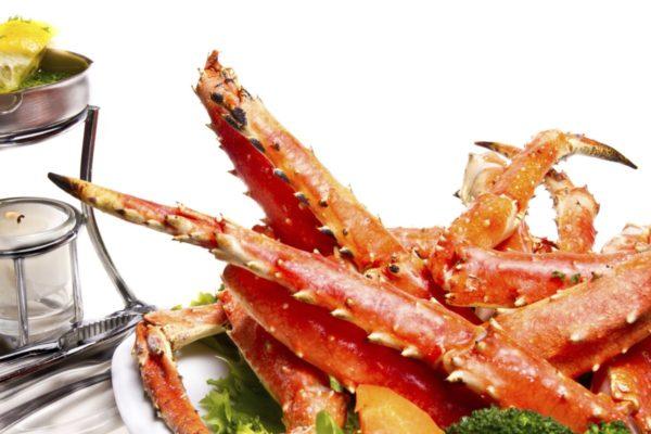 Cua king crab rang me ngon